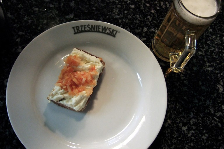Salmon and cream cheese