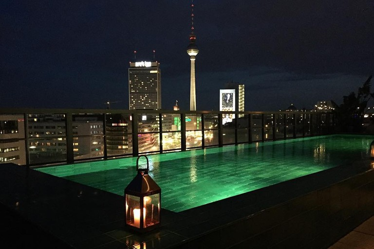Rooftop Pool at Soho House Berlin