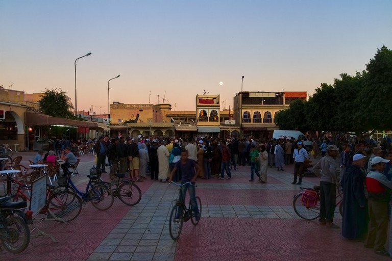 The main square in Taroudant
