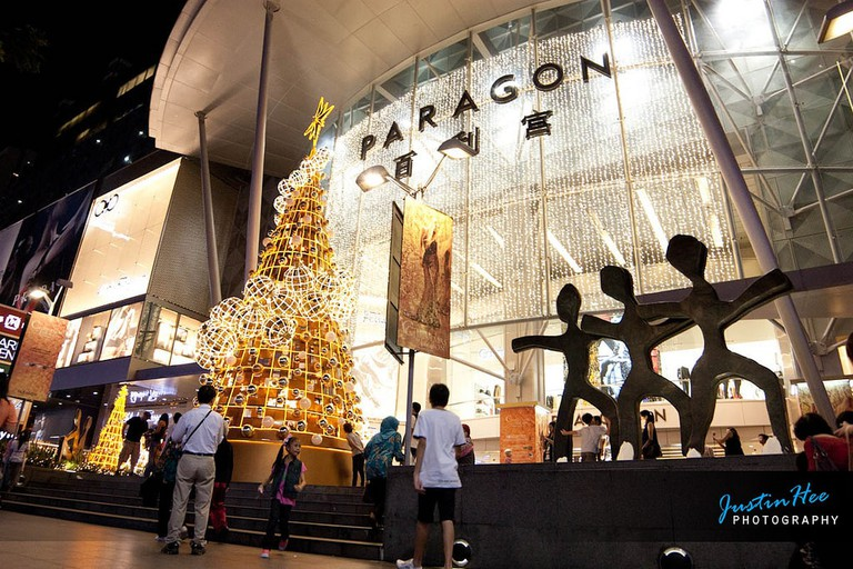 View of Paragon Shopping Complex
