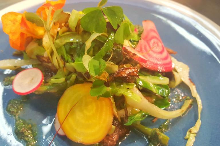 Croi Restaurants Vegetarian Dish