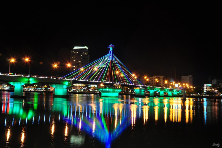Danang's colorful bridges | © Prenn/WikiCommons