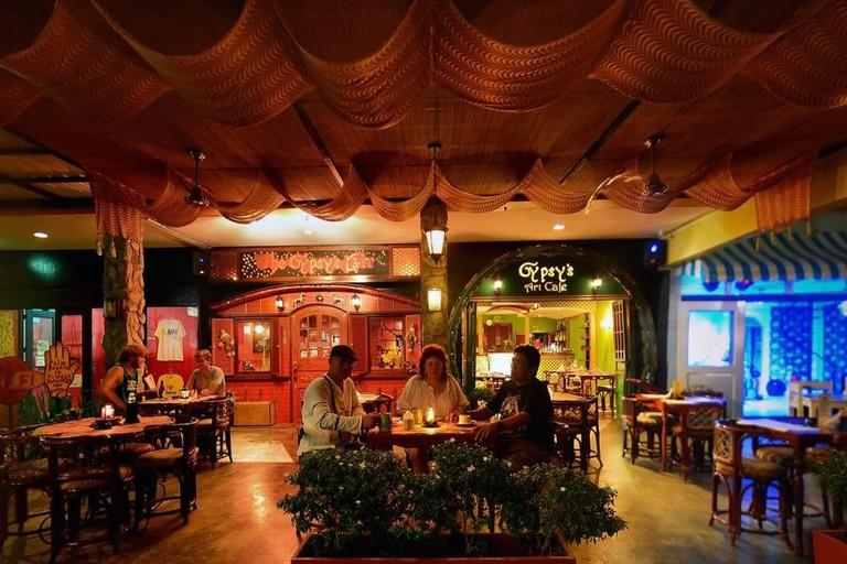 The Gypsy's Lair Art Cafe Facade