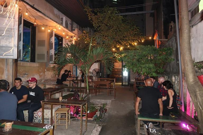 Indica's great patio