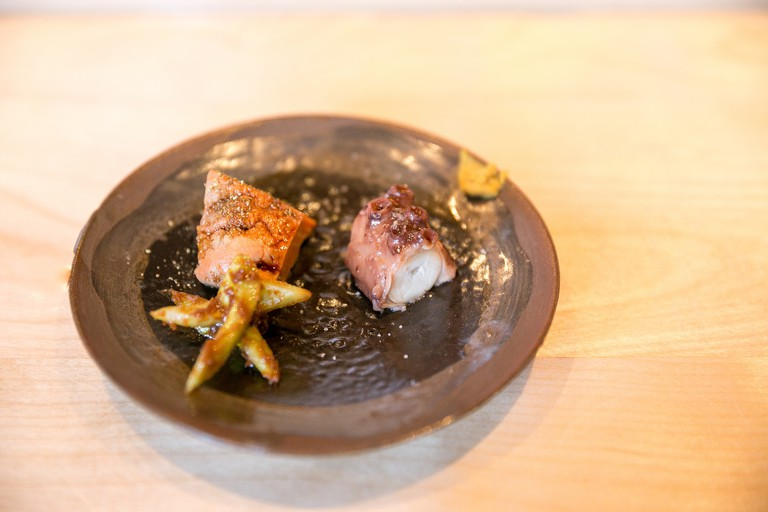 Monkfish and Octopus