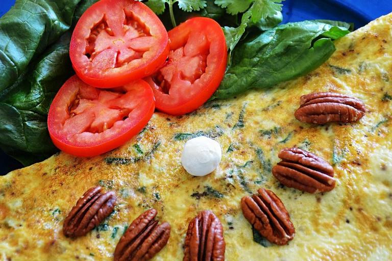Colibrís Omelette
