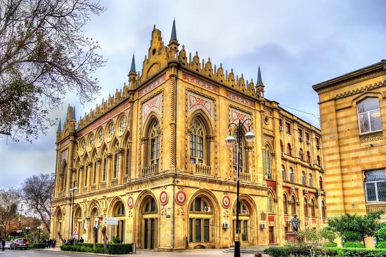 Ismailiyya Palace in Baku