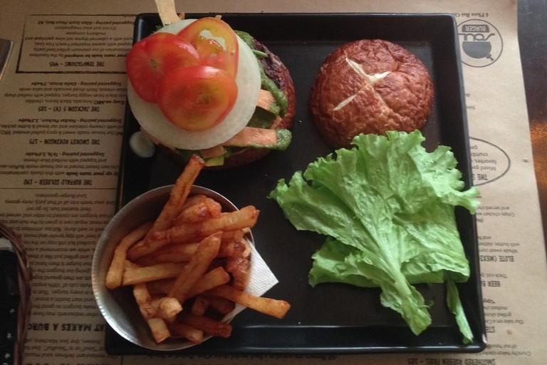 A delicious Soul Burger