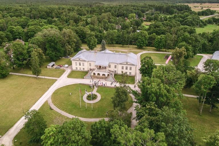 Vihterpalu Manor, Vihterpalu küla