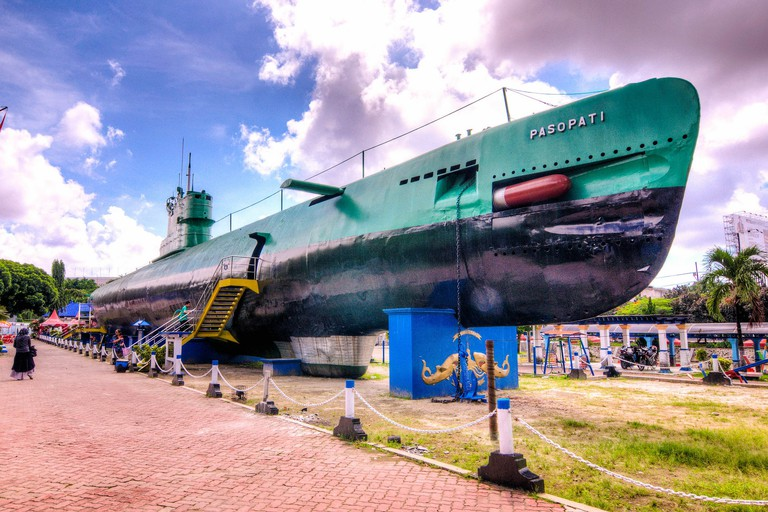 Submarine Monument, Surabaya