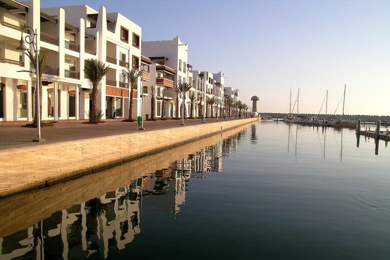 Reflections at Agadir Marina Hugues