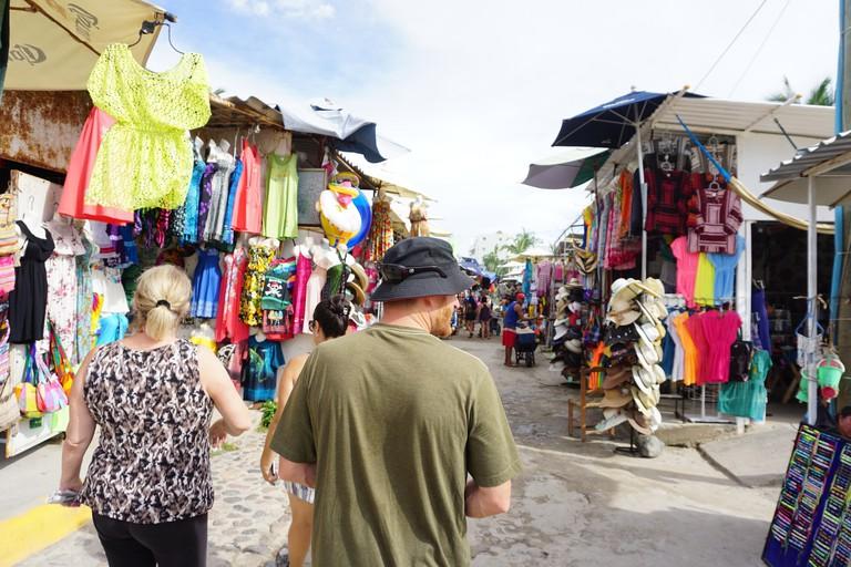 There are permanent kiosks at Arecibo Flea Market