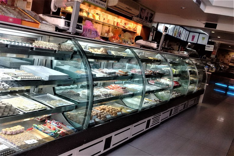 Confectionery on display at Alfanzo