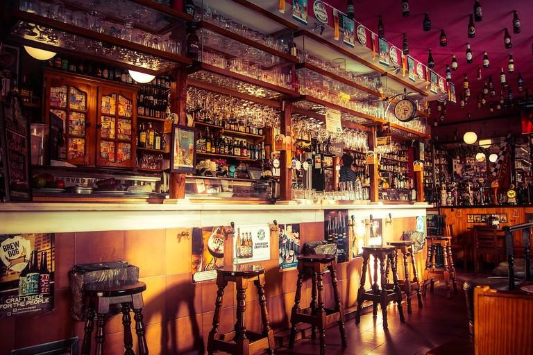 A classic pub atmosphere