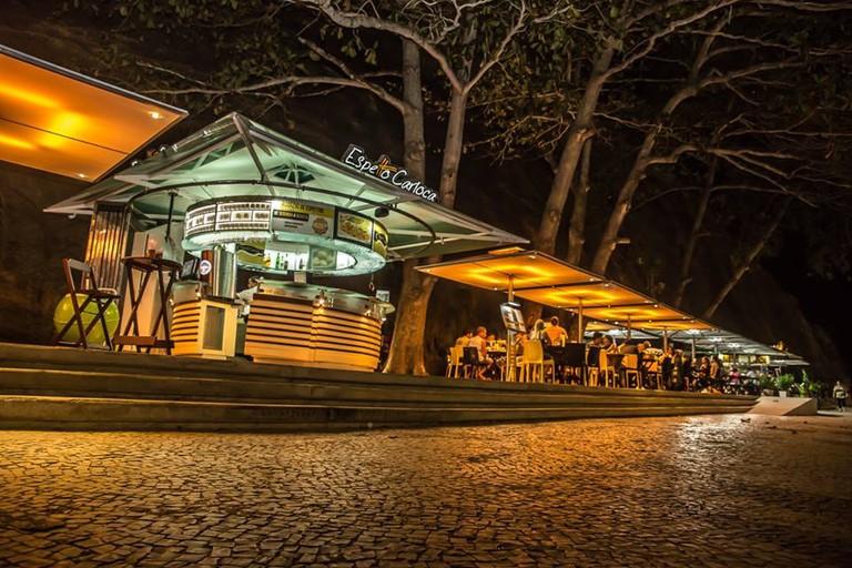Kiosk Espetto Carioca in Leme