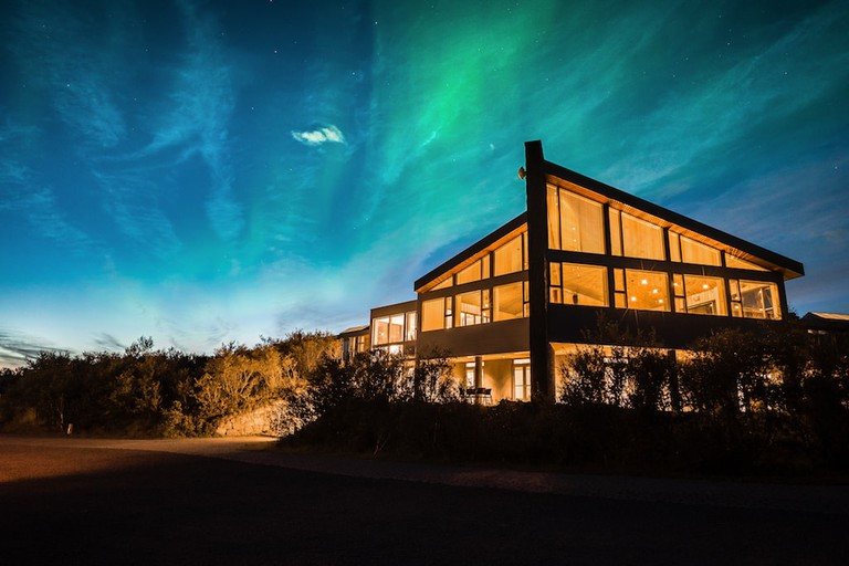 Admire the norther lights