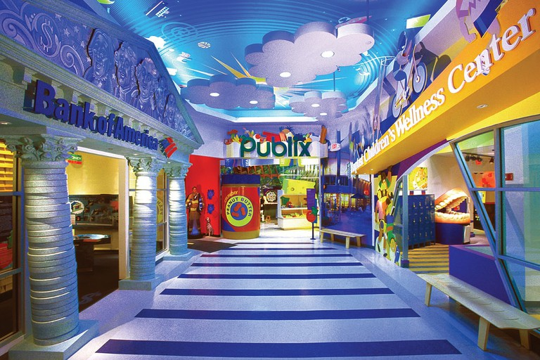 Interior of Miami Children's Museum