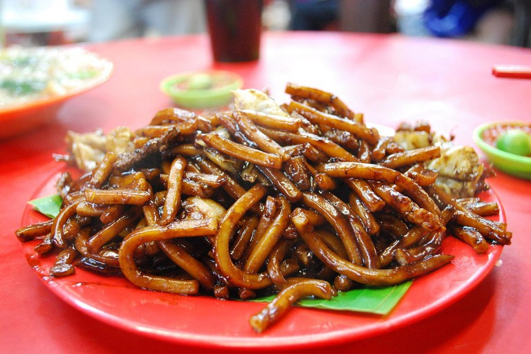 Noodle dishes can be ordered with or without broth