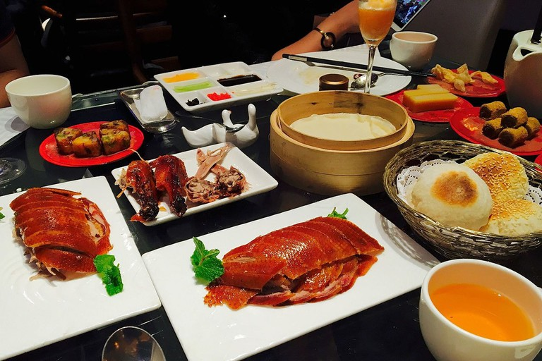 Roast duck is excellent at Ocean Palace