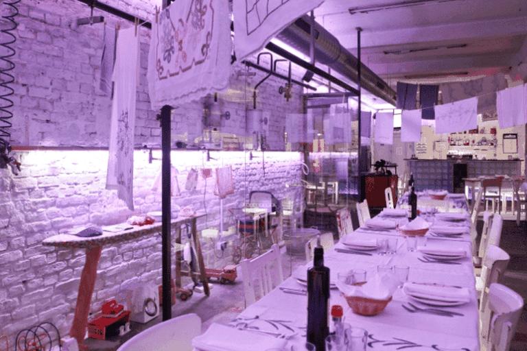 Lavanderia Vecchia's quirky interior