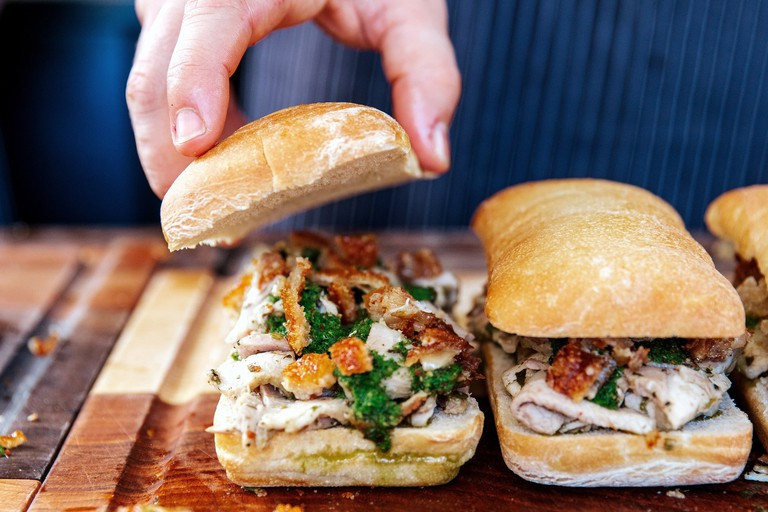 Signature Porchetta Sandwich