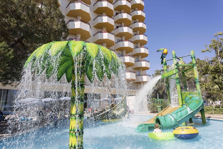 Kids' Pool at Fiesta Hotel Tanit | Courtesy of Palladium Hotel Group