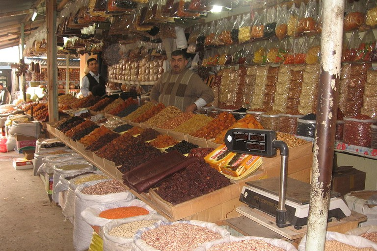 Experience the markets of Taza Bazaar