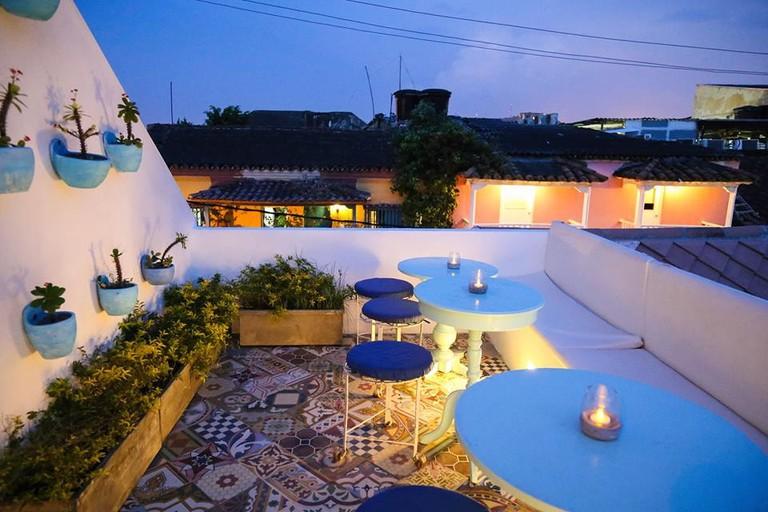 Rooftop terrace at Malagana
