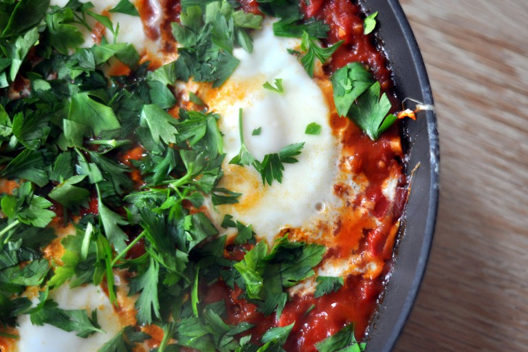 Try the shakshuka