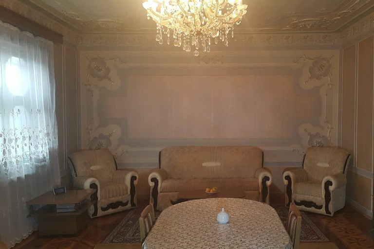 Ganja Homestay living room | © Courtesy of Ganja Homestay