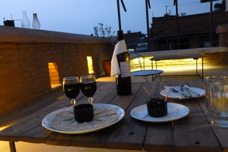 Romantic dinner at Swotha Traditional Homes