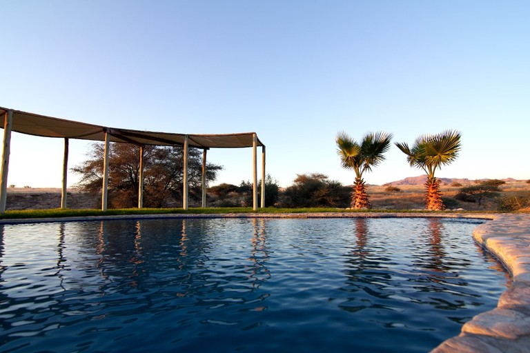 Agama River Lodge swimming pool