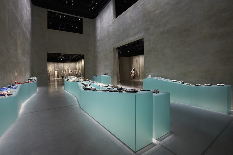Accessories display at Armani / Silos, Milan