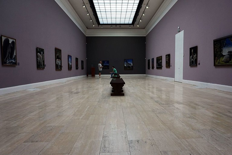 Exhibition hall of National Gallery