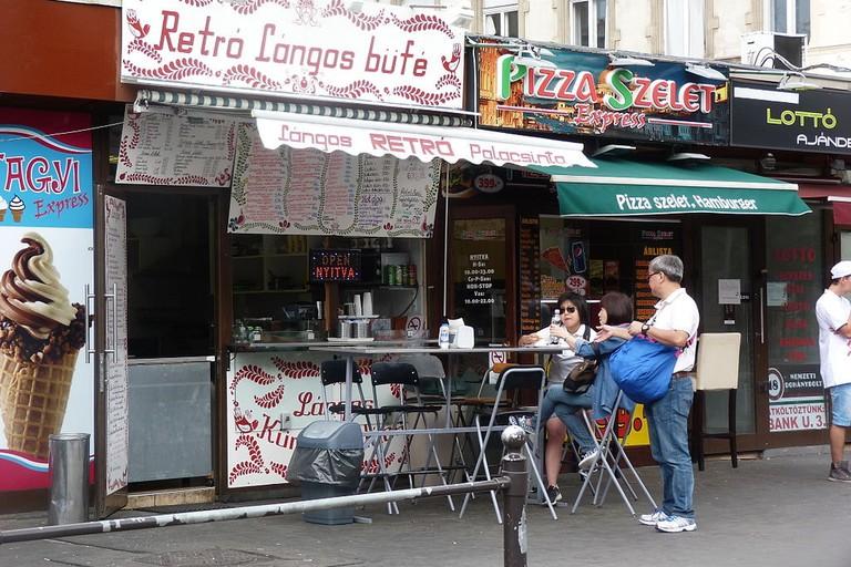 Rétro Lángos Büfé, Budapest