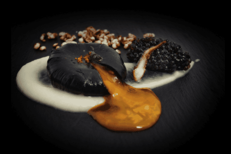 Huevo Negro | Courtesy of Zaranda Restaurant