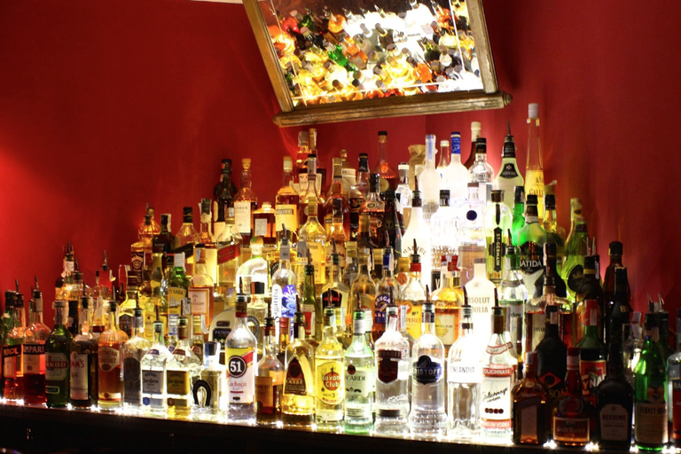 Plenty of drinks choice is on offer Courtesy of LAB Cocktail Bar