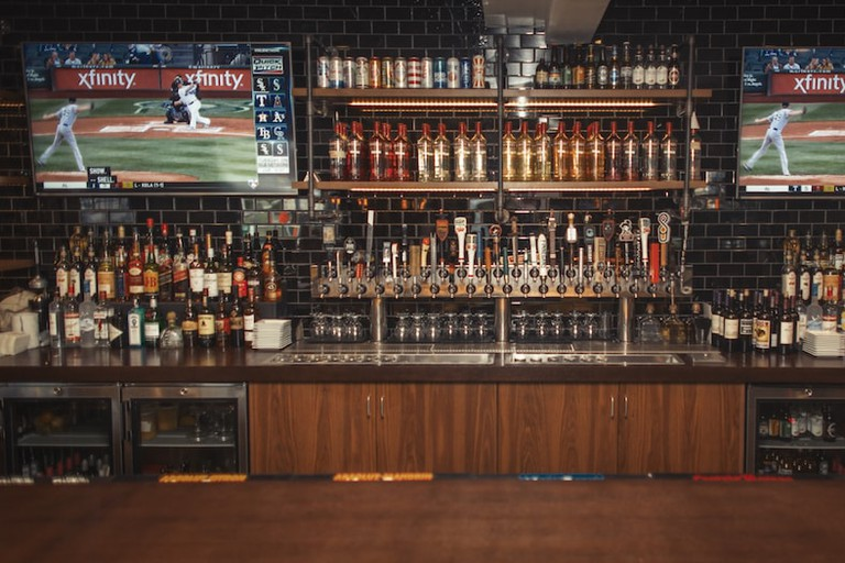 The Howe Features 40 Beers on Tap