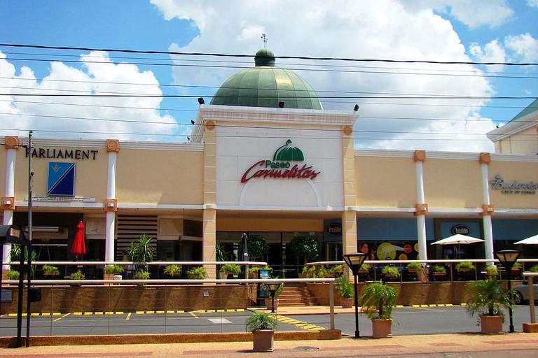Paseo Carmelitas en Villa Morra, Asunción, Paraguay