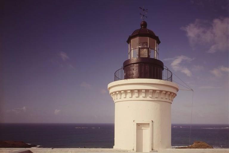 The top of the lighthouse at Las Cabezas de San Juan