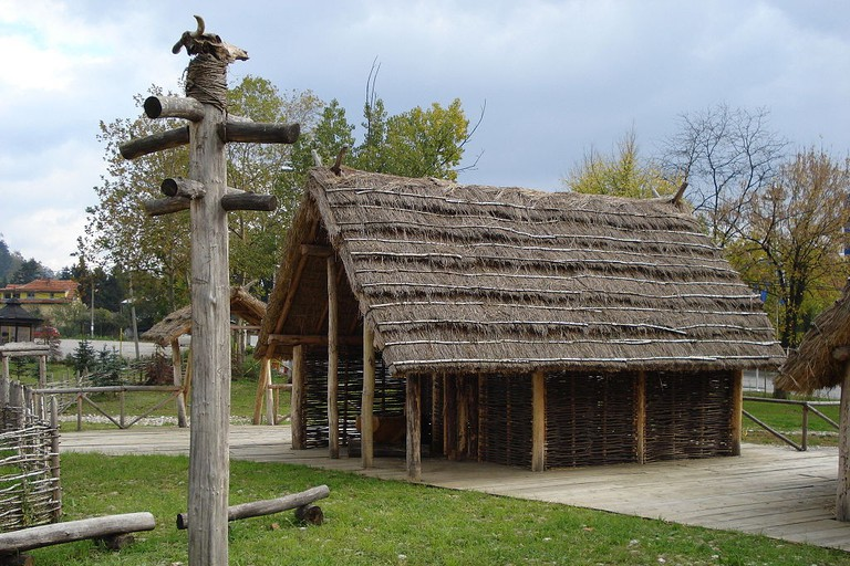 A Neolithic house in Tuzla's Archaeological Park