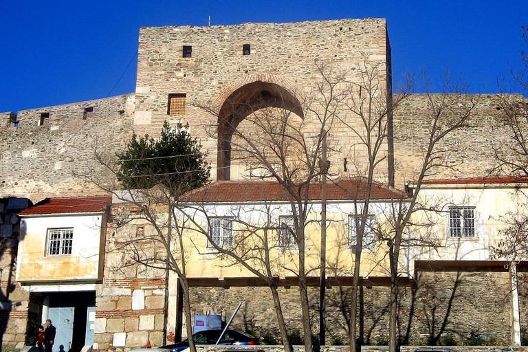 Thessaloniki Eptapyrgio entrance