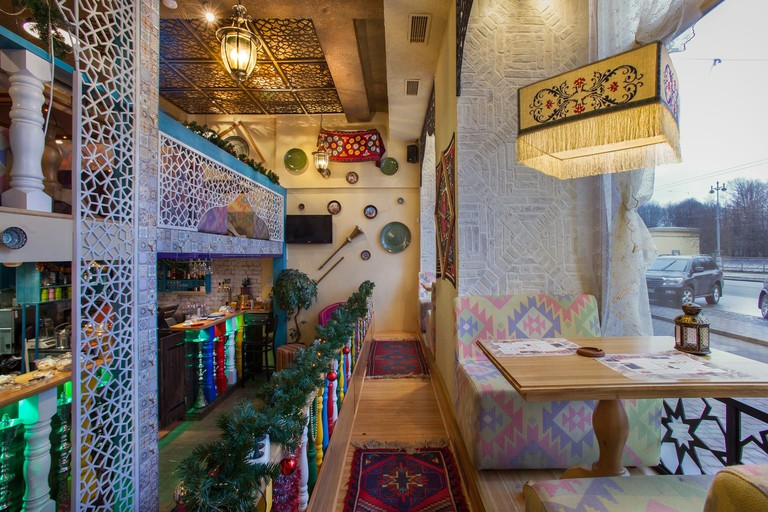 This great restaurant is stylised as a traditional tea house