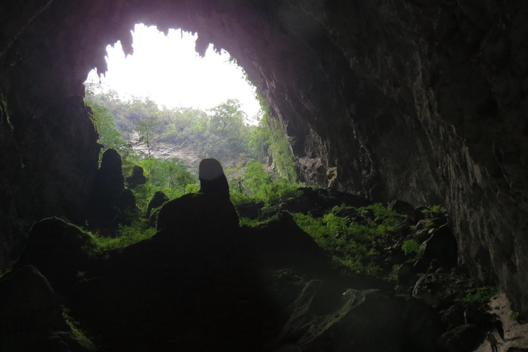 Opening to doline in Son Doong