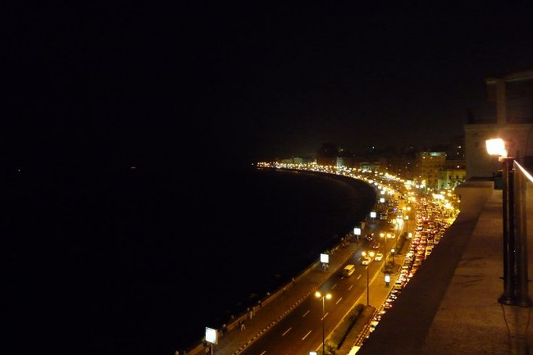Alexandria Egypt Eastern Harbor right