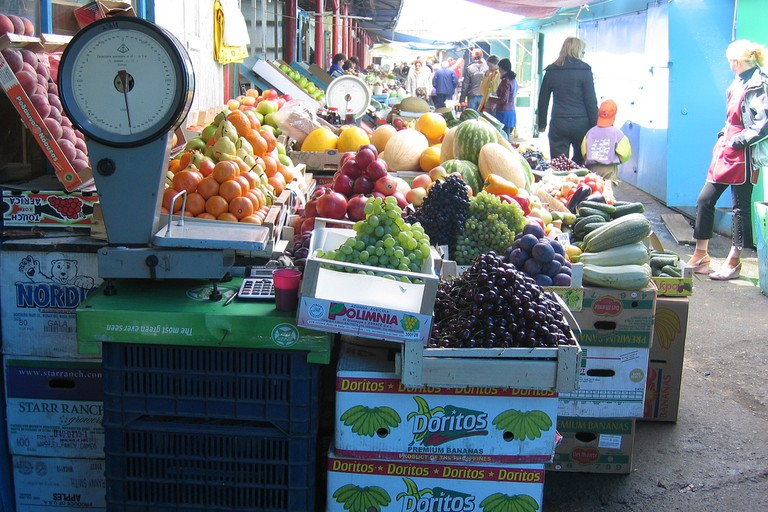Markets are where the locals get most of their produce