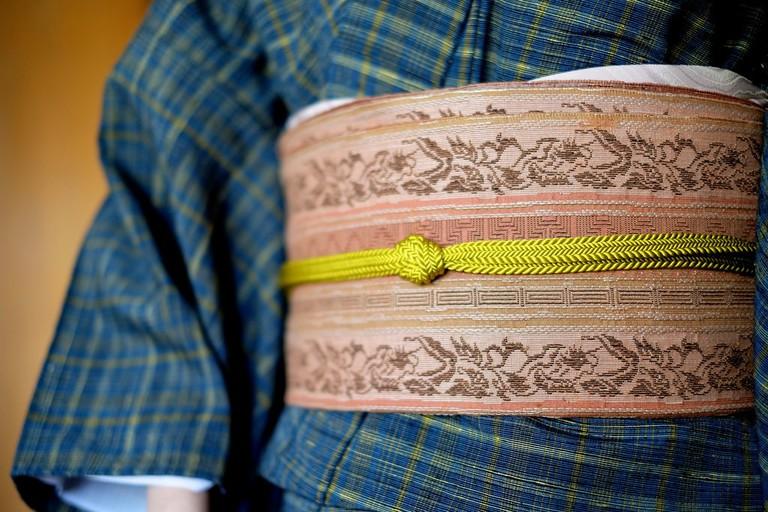 Kimono, obi and cord