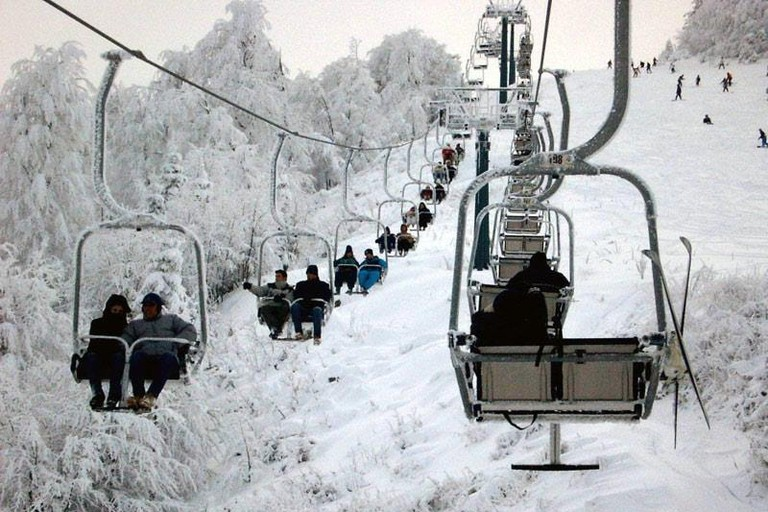 Elatochori ski resort
