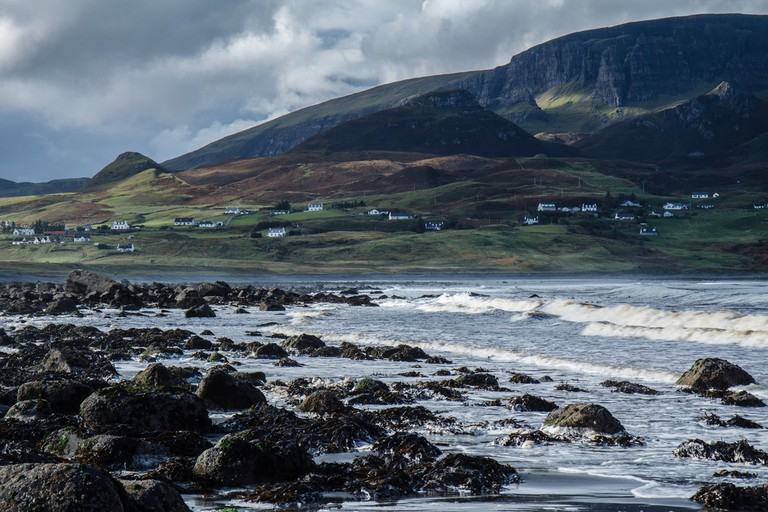 Staffin Beach, Skye