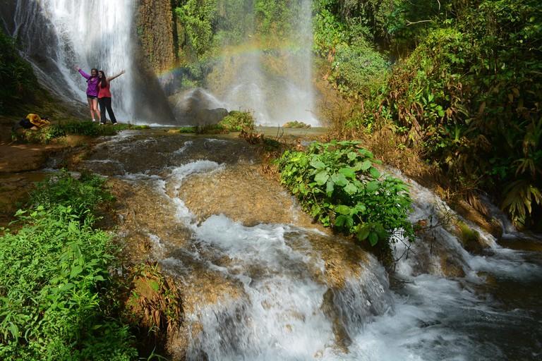 Waterfalls at Topes de Collantes near Trinidad, Cuba